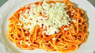 Cremoso spaguetti al horno viyoutube for Como cocinar espagueti