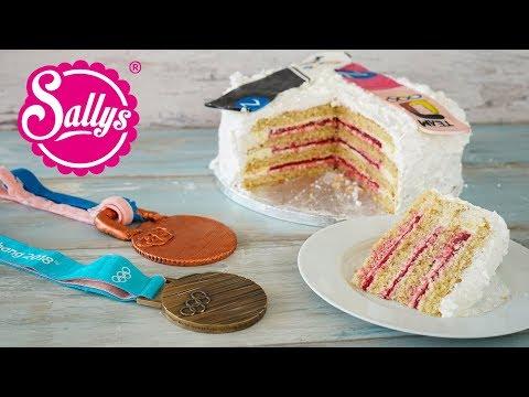 Snowboard Cake / Schneebombe / backen mit Ramona Hofmeister / Sallys Welt