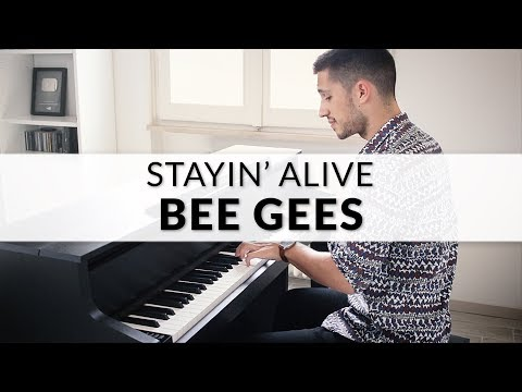 Bee Gees - Stayin' Alive (Saturday Night Fever Soundtrack)   Piano Cover