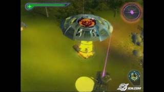 Destroy All Humans! PlayStation 2 Gameplay - Drop in the