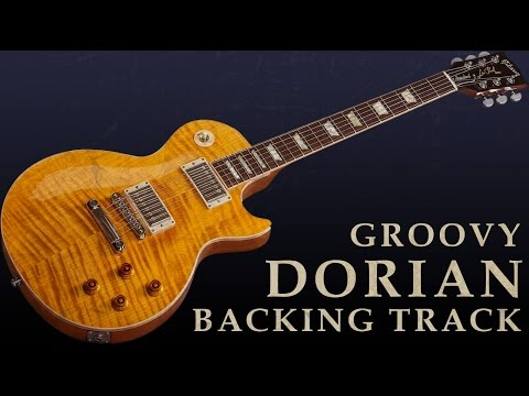 Soulful Dorian Groove – Guitar Backing Track in C
