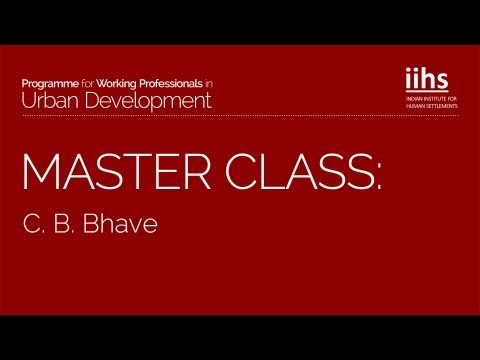 Masterclass | Change Management by C.B. Bhave