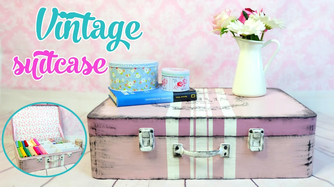 How To Make Vintage Suitcase