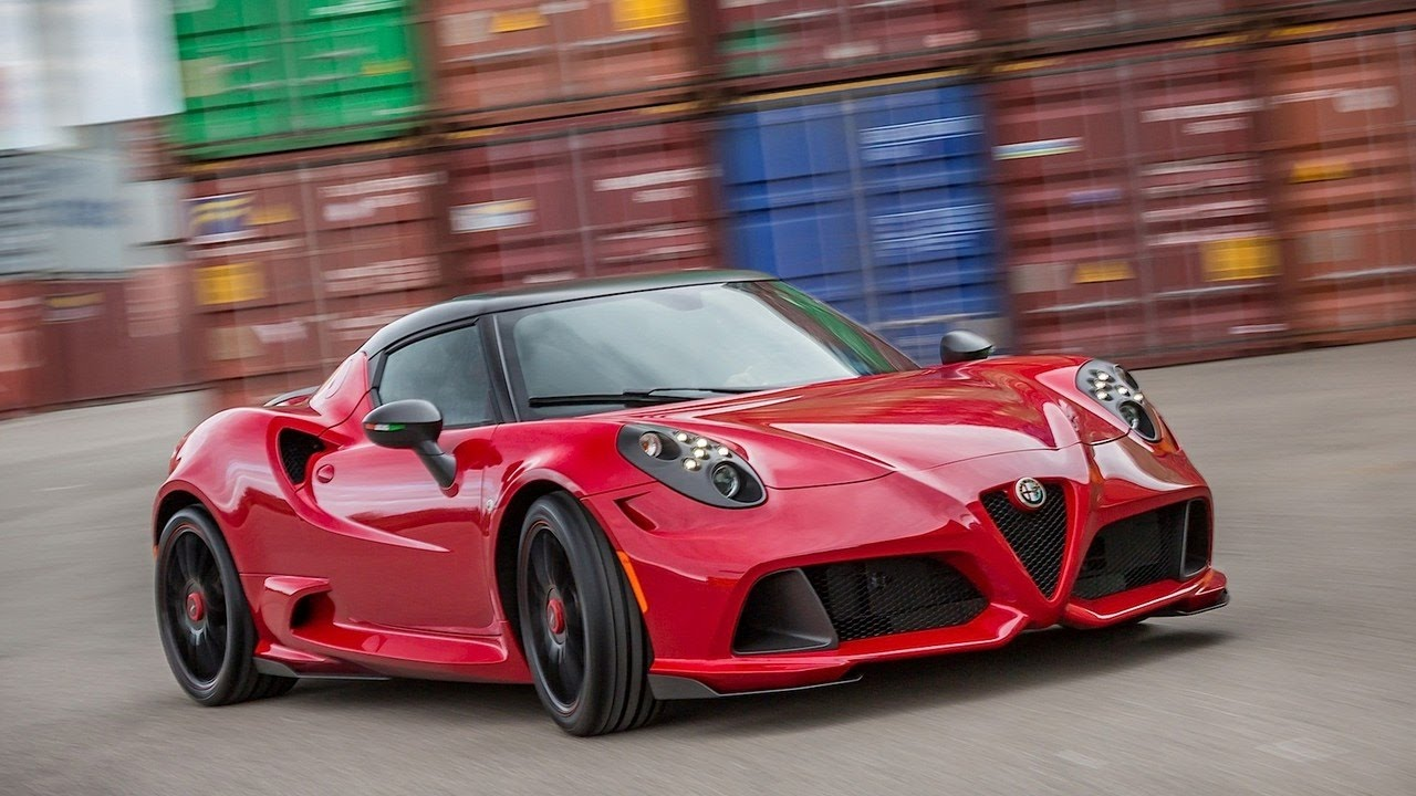 alfa romeo 4c 2017 spider coupe engine specs and interior features