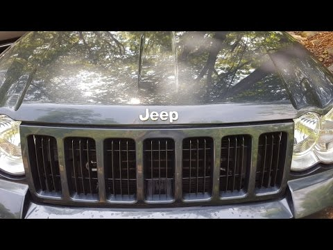 2008 Jeep Grand Cherokee Rear Bumper Cover Replacement How To