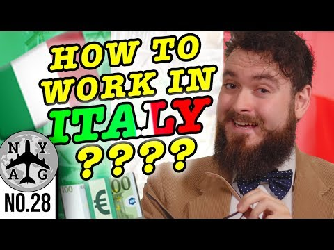 Finding A Job In Italy (as An English Speaker And General Overview)