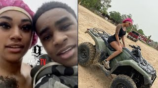 YBN Almighty Jay & Jania Go On A 4 Wheeler Date! 😍