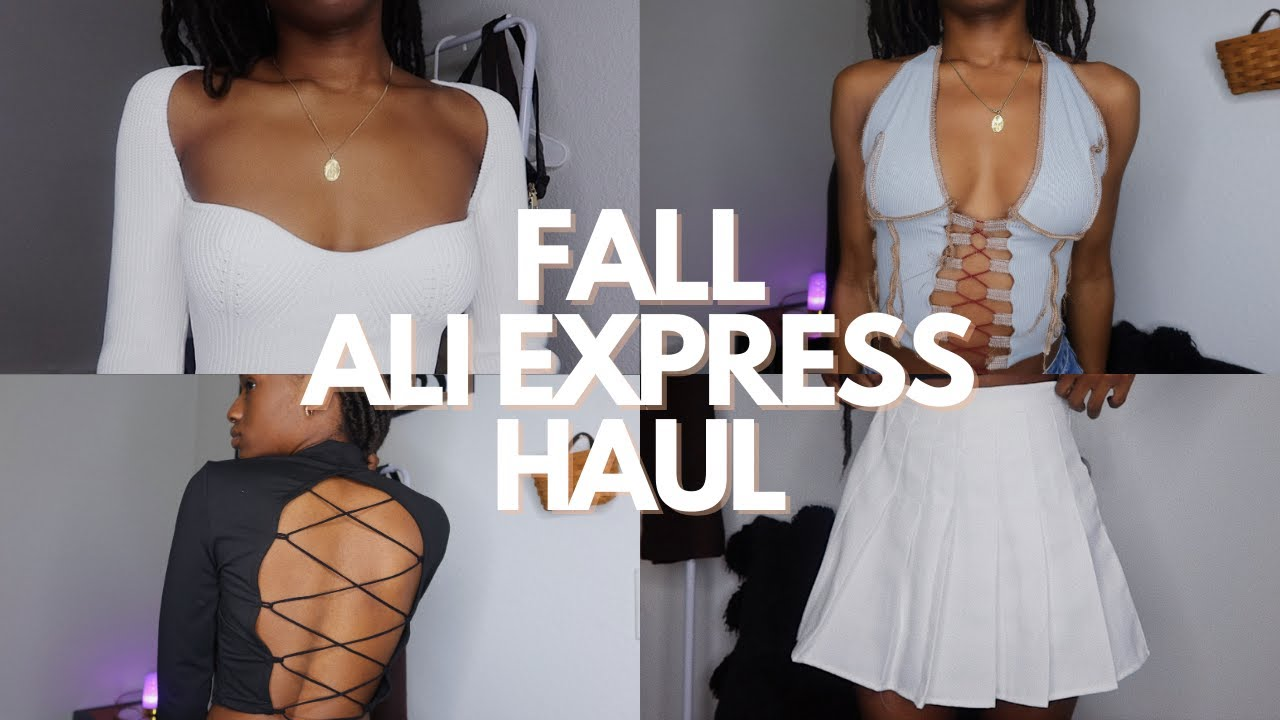 *TRENDY AND AFFORDABLE* AliExpress try-on haul | FALL EDITION 2020