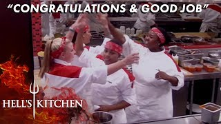 Strongest First Service In Hell's Kitchen History | Hell's Kitchen