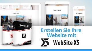 Wie erstellt man mit WebSite X5 13 eine Webseite in 5 Schritten
