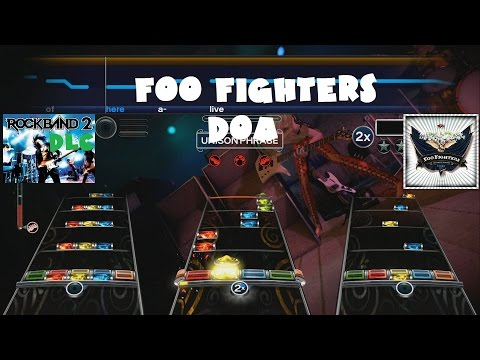 Foo Fighters - DOA - Rock Band 2 DLC Expert Full Band (December 23rd, 2008)