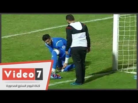 الشناوى يطالب أحد لاعبى الزمالك بإدعاء الإصابة لتغيير حذائه أمام النصر