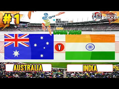 ICC Cricket World Cup 2015 Gaming Series  Pool A Match 1 Australia v India