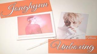 Unboxing Jonghyun 종현 Album Poet | Artist