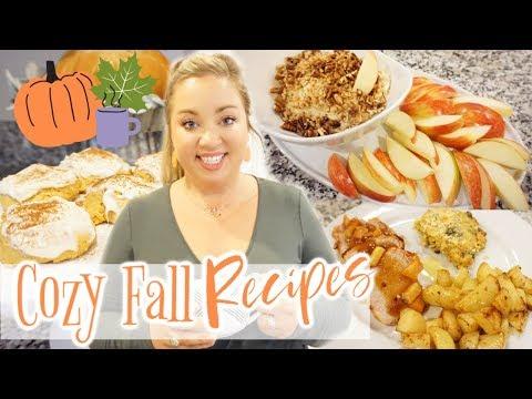 COZY FALL RECIPES🍁🧡 | WHAT'S FOR DINNER | JESSICA O'DONOHUE