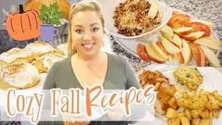 COZY FALL RECIPES🍁🧡 | WHAT'S FOR DINNER | JESSICA O'DONOHUE