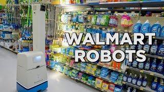Walmart adding more robots to their stores