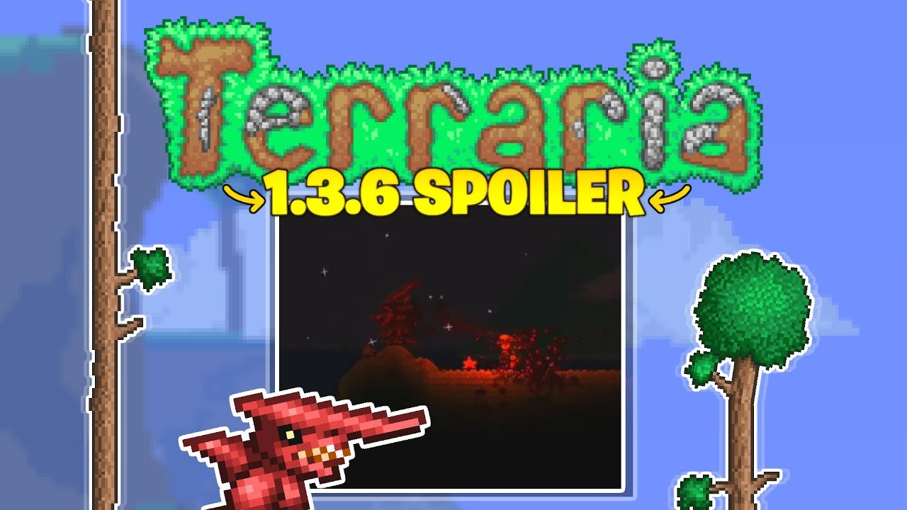 Terraria 1 3 6 adds something scary! (2019 Update!)