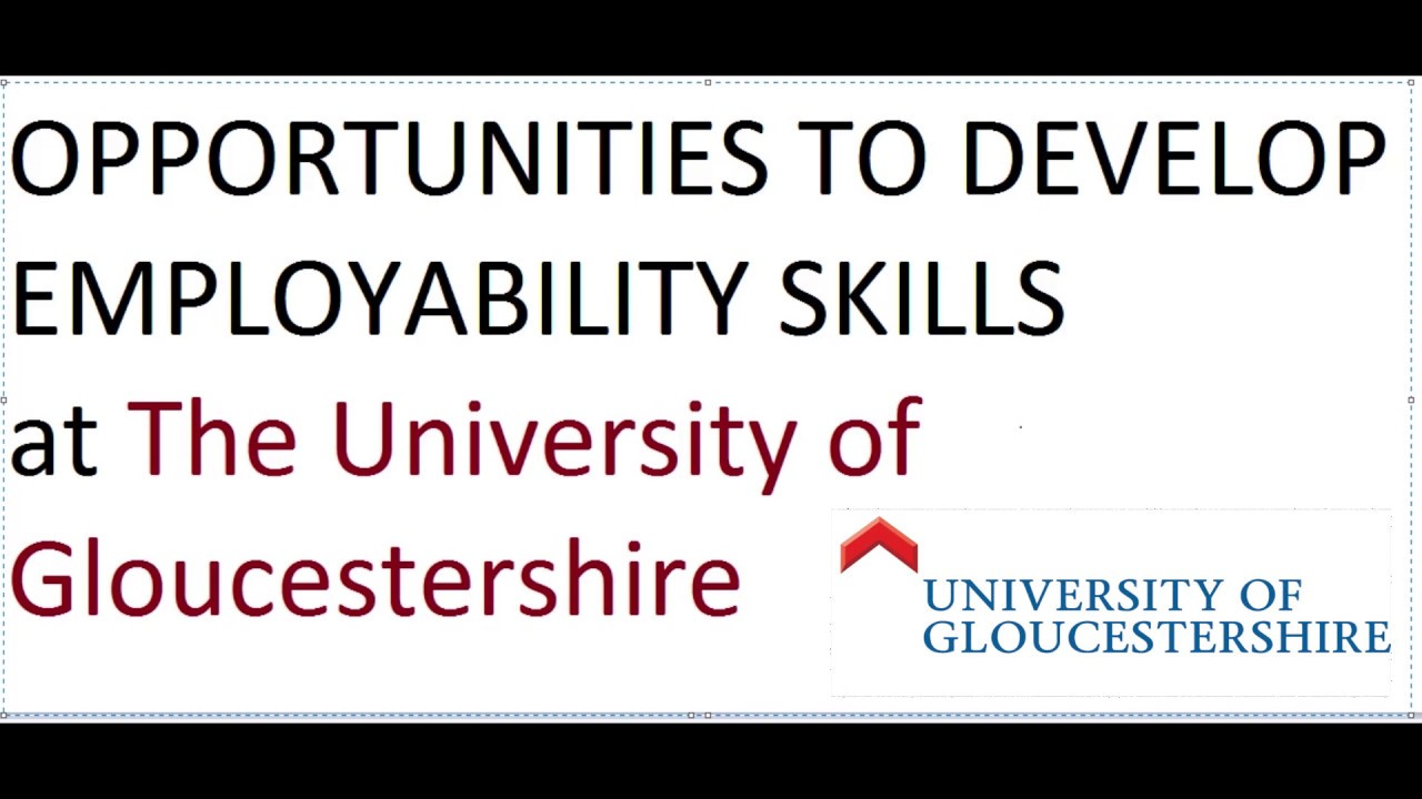 developing employability skills at the university of developing employability skills at the university of gloucestershire