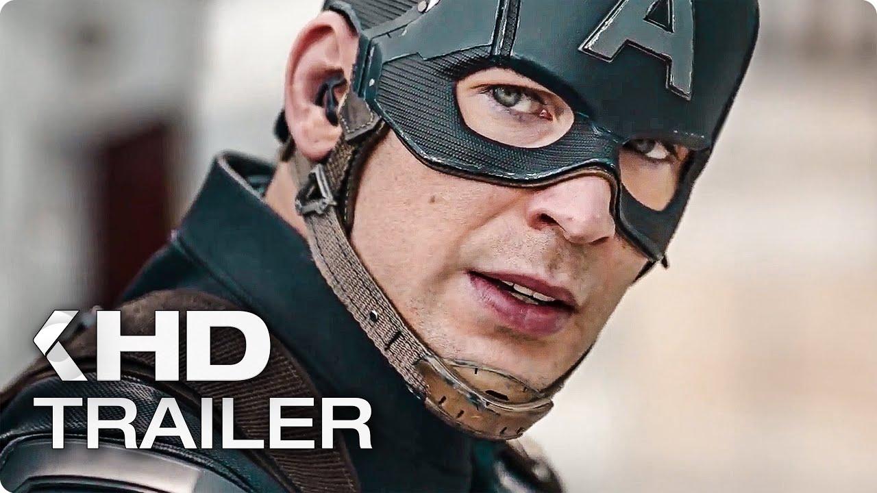 CAPTAIN AMERICA 3: Civil War Trailer 2 German Deutsch (2016)