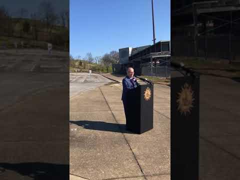 Mayor David Briley announces demolition of Greer Stadium