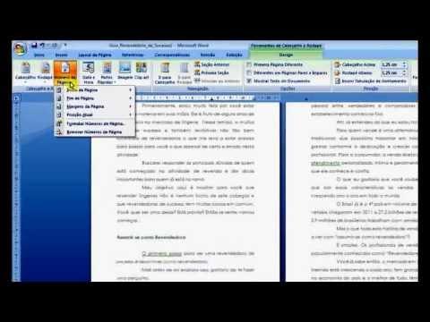 Imprimir em Formato de Livro - Word 2007