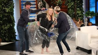 Amy Schumer Celebrated Her Engagement at Ellen