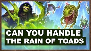 Can You Handle The Rain of Toads | Rise of Shadows | Hearthstone