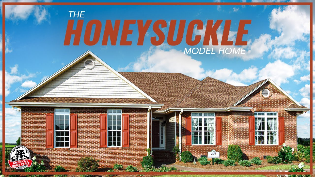 america 39 s home place the honeysuckle model tour youtube