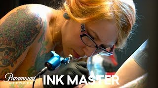 "Ink Master Season 5, Episode 1: ""Rival's Choice"" Elimination Tattoo"
