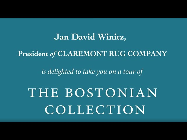 The Bostonian Collection Official Tour Video