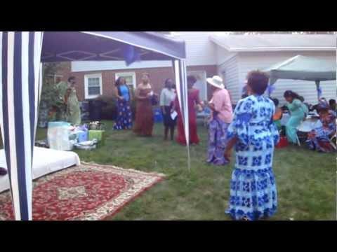 Zambian Kitchen Party 8.04.12
