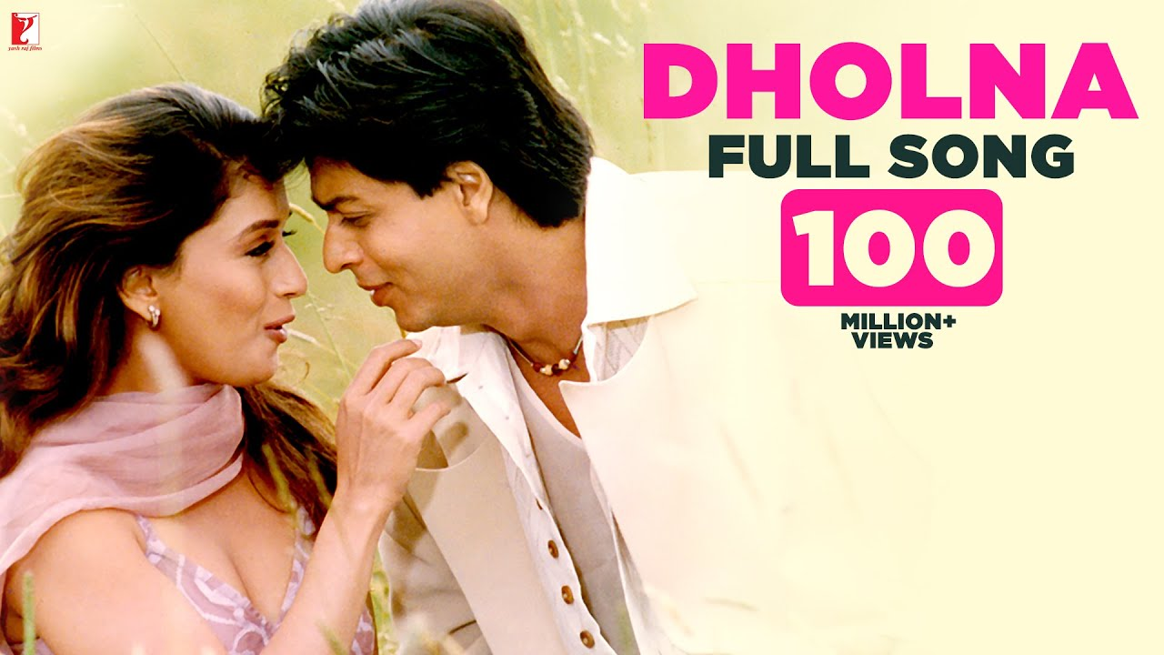 Download Dholna - Full Song | Dil To Pagal Hai | Shah Rukh Khan | Madhuri | Lata Mangeshkar | Udit Narayan