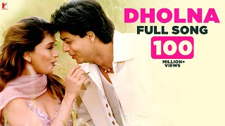 Download Video Dholna - Full Song | Dil To Pagal Hai | Shah Rukh Khan | Madhuri | Lata Mangeshkar | Udit Narayan MP3 3GP MP4