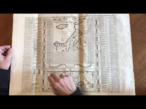 Holy Land Palestine Israel Galilee Judea 1720 Chatelain Large Historical Map