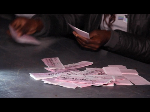General election in Lesotho: Vote counting underway for third government in five years