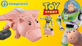 Toy Story - Nave do Doutor Porcão com Buzz Lightyear - Brinquedo Imaginext Português - Turma kids thumbnail