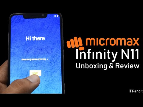 Micromax Infinity N11 Smartphone Unboxing & Full Review - Hands On Review - Hindi