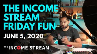 Friday Fun Day on The Income Stream with Pat Flynn - Day 78