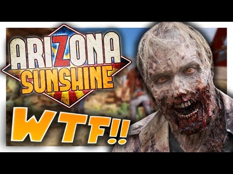 BEST ZOMBIE VR GAME EVER!! - Arizona Sunshine (Oculus Rift VR Touch Controllers)