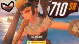 Overwatch Bronze Moments #1 - Drunk Mercy