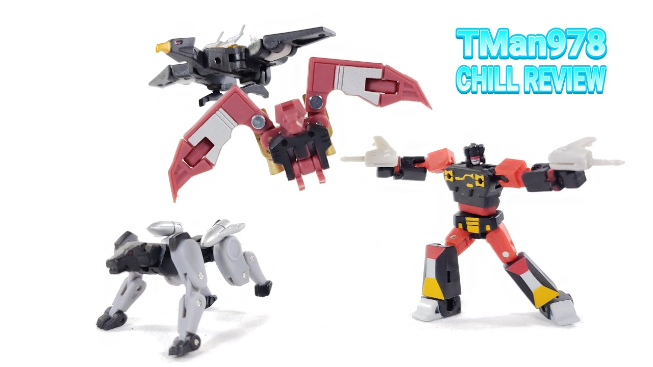 Magic Square MS-B28 Tapes Team Legends Frenzy Ravage Buzzsaw Ratbat CHILL REVIEW
