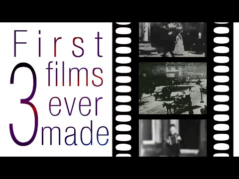 First 3 films ever made