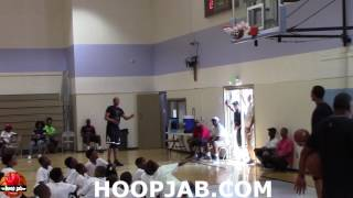 Russell Westbrook Shooting 3 Pointers At His Free Basketball Camp in South Los Angeles.HoopJab