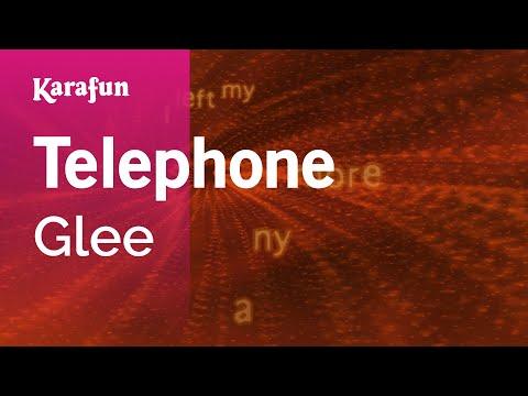 Karaoke Telephone - Glee *