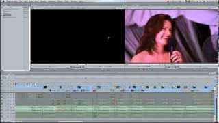 Пример работы со звуком при монтаже свадебного фильма