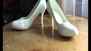 белое платье-белая фата