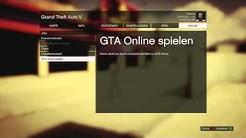 """GTA 5 Online - """"Solo/Freunde/Crew Sitzung starten"""" (Deutsch/German)"""