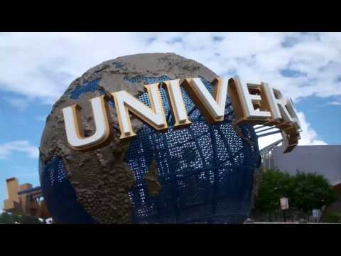 Universal Studios Orlando Globe  HD 2011