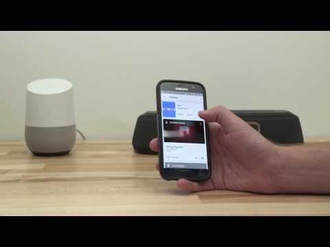 Casting music with Google Home | Crutchfield video